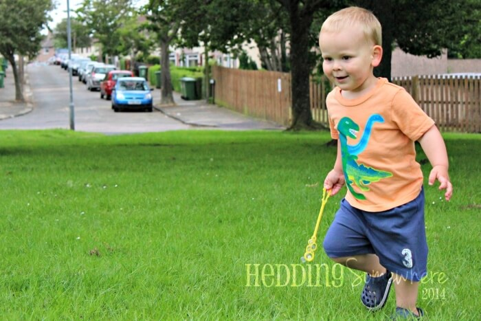 {Oh, Toddlers…} (Don't) Run in Circles
