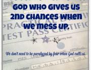 Failure & 2nd Chances