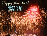 New Year Fireworks 2015