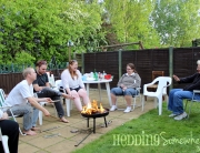 church family barbecue
