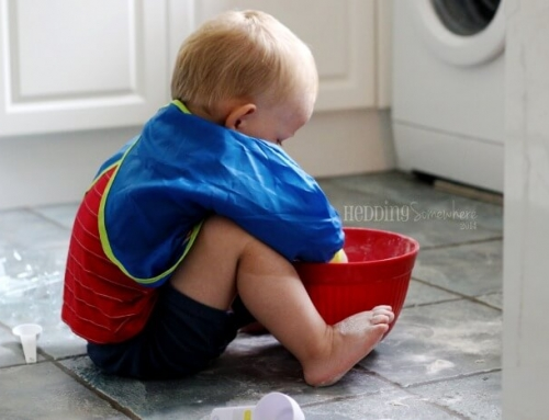 {Oh, Toddlers…} Don't be Afraid to Make a Mess